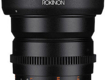 Rent: Rokinon Prime EF Cine DS Lens Package