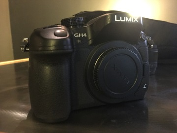 Rent: Panasonic Lumix DMC-GH4 Digital Camera