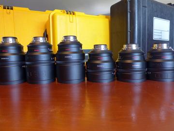 RED PL Prime & Zoom Lenses 18, 25, 35, 50, 85, 100, 18-50mm