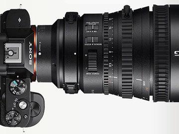 Sony FE PZ 28-135mm, Sony 10-18mm, Sony Zeiss 16-70mm Lenses