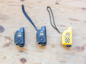 Rent: Three (3) PocketWizard Plus III Transceiver