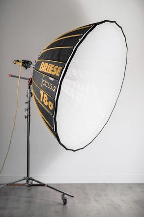 Briese Lichttechnik Parabolic Reflector Focus 180 Broncolor