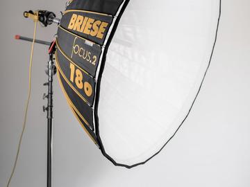 Rent: Briese Lichttechnik Parabolic Reflector Focus 180 Broncolor