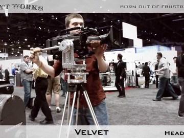 MYT Works Velvet Nodal Head & Sachtler CE-110ENG HD Legs