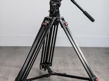 Rent: Oconnor 1030HD Fluid Head on a 25L Video Tripod