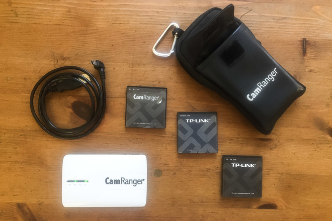 CamRanger Remote Canon & Nikon wireless Camera Control