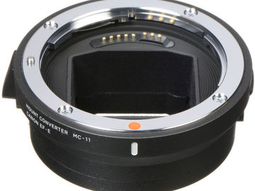 Rent: Sigma Mount Converter MC-11 Canon EF to Sony E like metabone