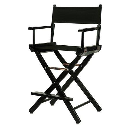 Tall Black Director's Chair