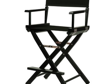 Rent: Tall Black Director's Chair