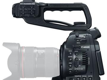 Canon EOS C100 +24-105 lens+shotgun