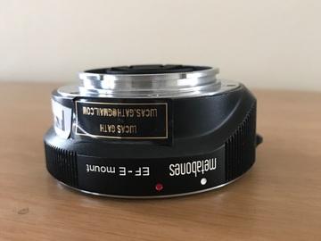 Rent: Metabones Canon EF Lens to Sony E Mount Smart Adapter