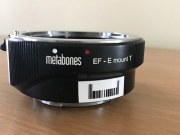 Rent: Metabones Canon EF Lens to Sony E Mount T Smart Adapter 4