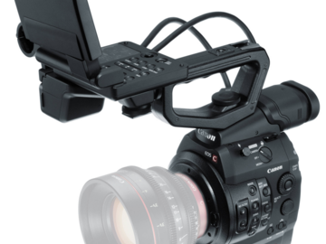 Rent: x3 Canon EOS C300 Cinema Camera w/ lenses, monitors, media..