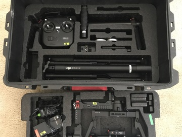 Rent: DJI Ronin 3-Axis Gimbal Stabilizer