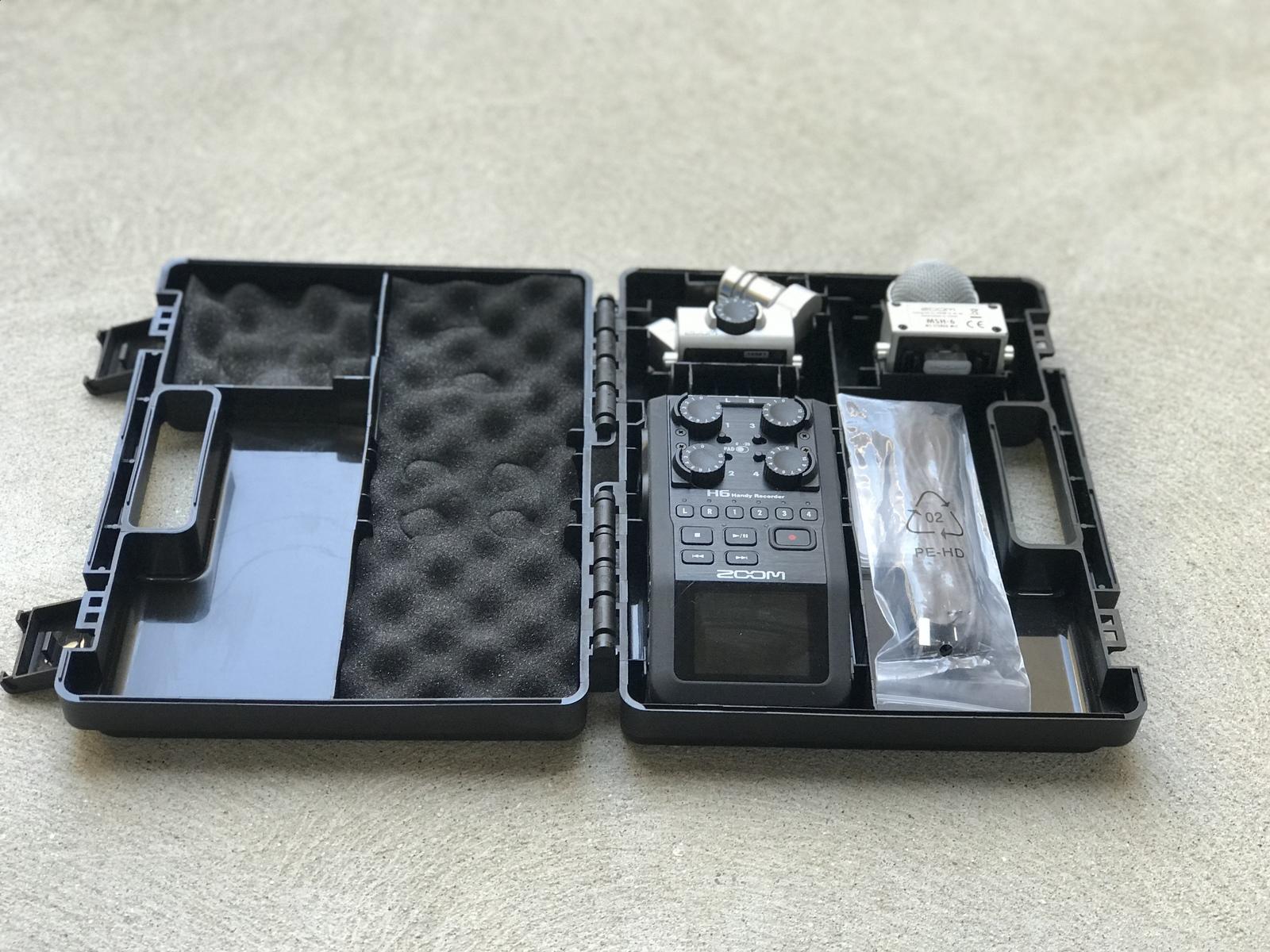 Rent A Zoom H6 Handy Recorder W Hard Case Best Prices