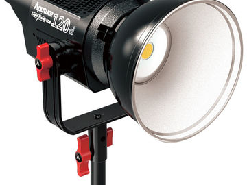 Aputure LS C120d Dimmable LED w/V-mount batteries + Soft Box