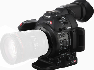 Rent: C100 Mark II with autofocus M2 w two batt