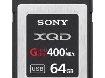 Rent: 4- 64 GB QXD cards
