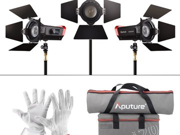 Rent: Aputure LS-Mini20 3-Point Lighting Kit