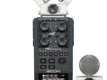 Rent: Zoom H6 Handy Recorder