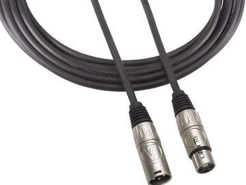 Rent: XLR male to XLR female 50ft audio cable for mic