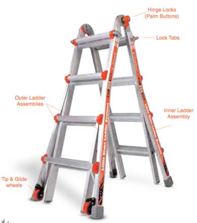 Little Giant Multi-Ladder System
