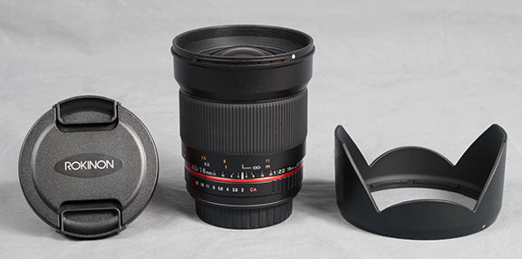 Rokinon 16mm f/2.0 Lens for Canon EF Mount