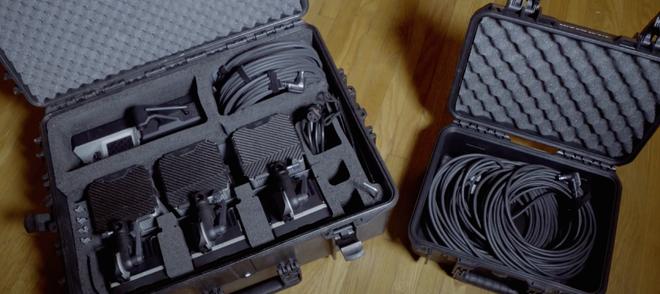 Digital Sputnik DS3+ Kit (w/60' Long Cables & Stands)