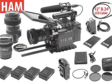 Rent: RED Epic Dragon 6K | Sigma Art 18-35mm f/1.8, 50-100, 11-16