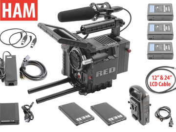 RED Scarlet MX 4K | 2x 128GB Redmags | 3x Batteries | Mic