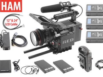Rent: RED Scarlet MX 4K | Canon 24-105mm F/4L | 2x 128GB Redmags