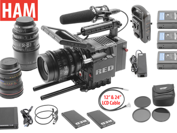 Rent: RED Scarlet MX 4K | Sigma Cine 18-35 T2, 50-100, 11-16 T3