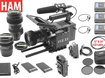 Rent: RED Scarlet MX 4K | Sigma Art 18-35 f/1.8, 50-100, 11-16