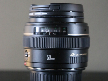 Rent: Canon EF 50mm f/1.4 Prime Lens