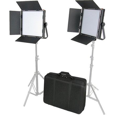 CAME-TV High CRI Digital 1024 Bi-Color LED 2-Light Kit Panel