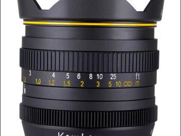 Rent: Kamlan 50mm f1.1 SUPER BOKEH Cine Lens!