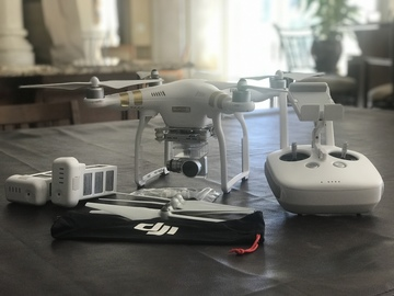 Rent: DJI Phantom 3 4K Drone Kit with Accessories