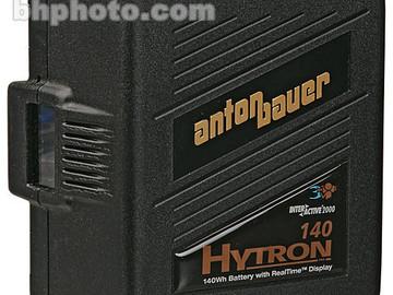 Rent: #2(4) Anton Bauer Digital HYTRON 140 Batteries with Charger