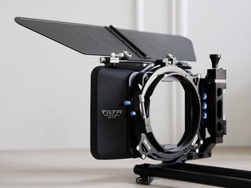 Rent: Matte Box 4x4 Tilta MB-T05 (x8 Diffusion Filters 4x4)