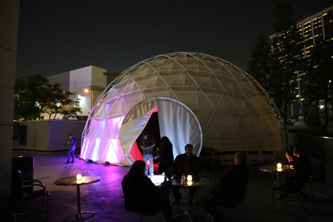 50 Foot Dome Theater with inside 360 projection Dome Theater