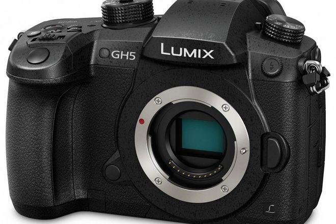 Panasonic Lumix GH5 w 3 batt and Metabones speed b canon