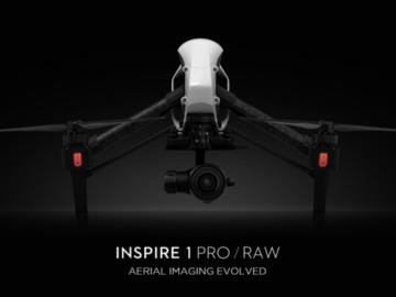 DJI Inspire Pro X5R 4K Raw Package