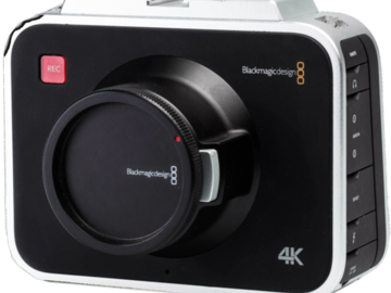Rent: Blackmagic 4K Production Camera