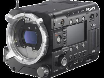Rent: Sony PMW- F55 4k