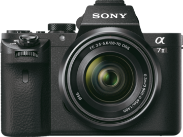 Rent: Sony Alpha A7R II 4K