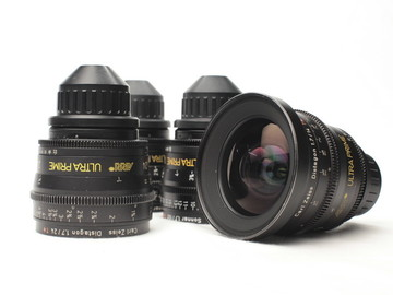 Rent: ARRI/Zeiss Ultra Prime 6 lens set