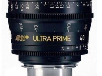 Rent: ARRI/ Zeiss Ultra Prime 40mm T1.9
