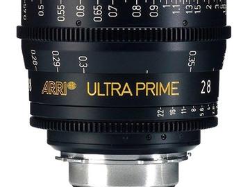 Rent: ARRI/ Zeiss Ultra Prime 28mm T1.9