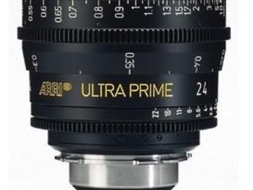 Rent: ARRI/ Zeiss Ultra Prime 24mm T1.9