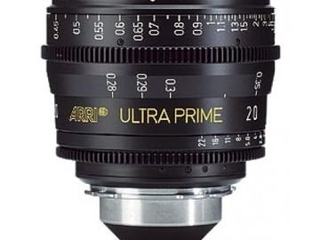 Rent: ARRI/ Zeiss Ultra Prime 20mm T1.9